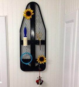 ironing board peg board