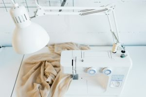 Light on sewing machine
